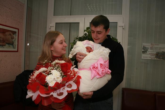 Бант для новорожденной Сегодня