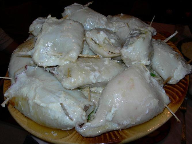 Приготовление кальмаров в сметанеы приготовления с фото