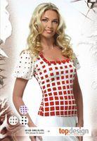 Интернет магазин стильной женской одежды: купить блузку, красная...